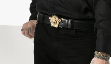 Versace Belts Price Guide