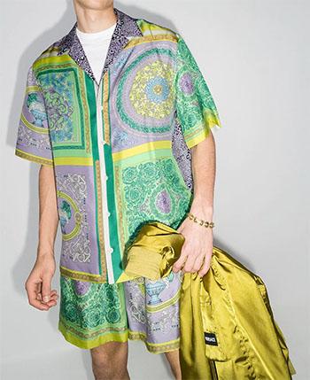 Men's Versace Silk Shirt