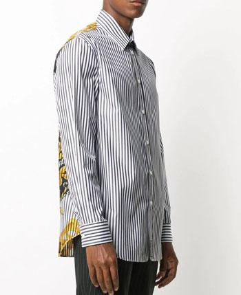Men's Versace Striped Shirt