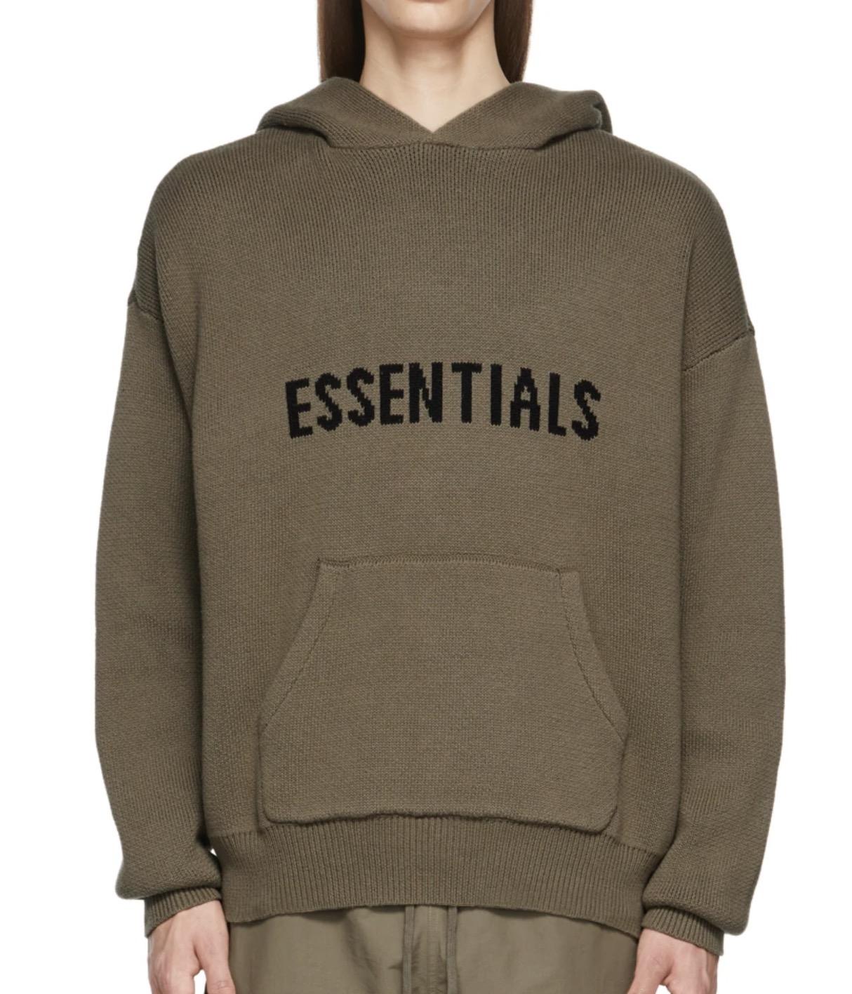 Essentials Brown Hoodies