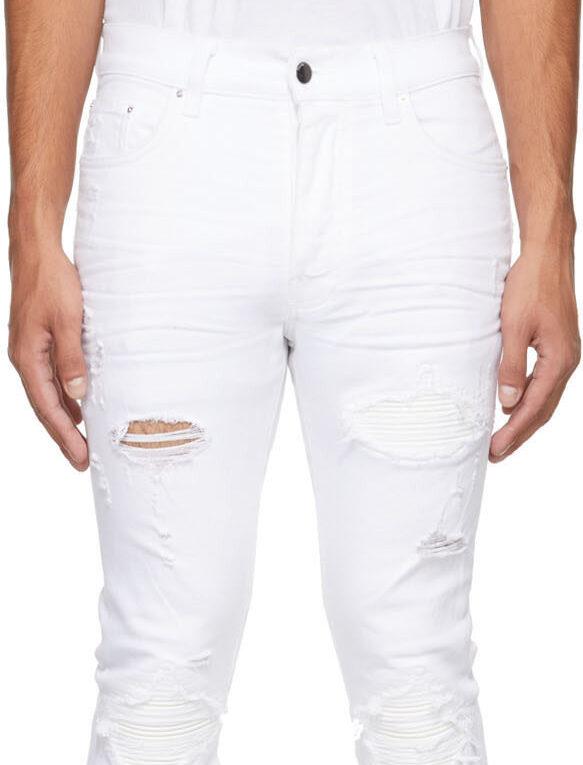 White Amiri Jeans
