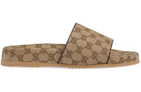 Men's Gucci GG Supreme Slides